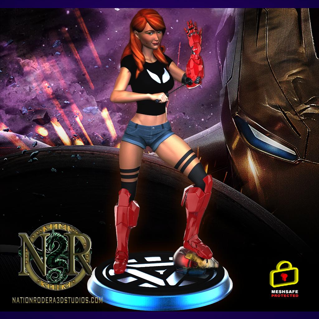 Avengers mary-jane iron-man + NSFW