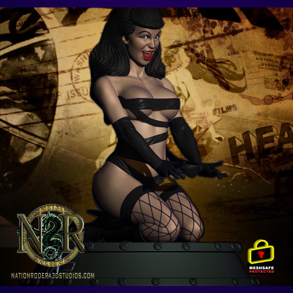 Bettie bombshell + NSFW