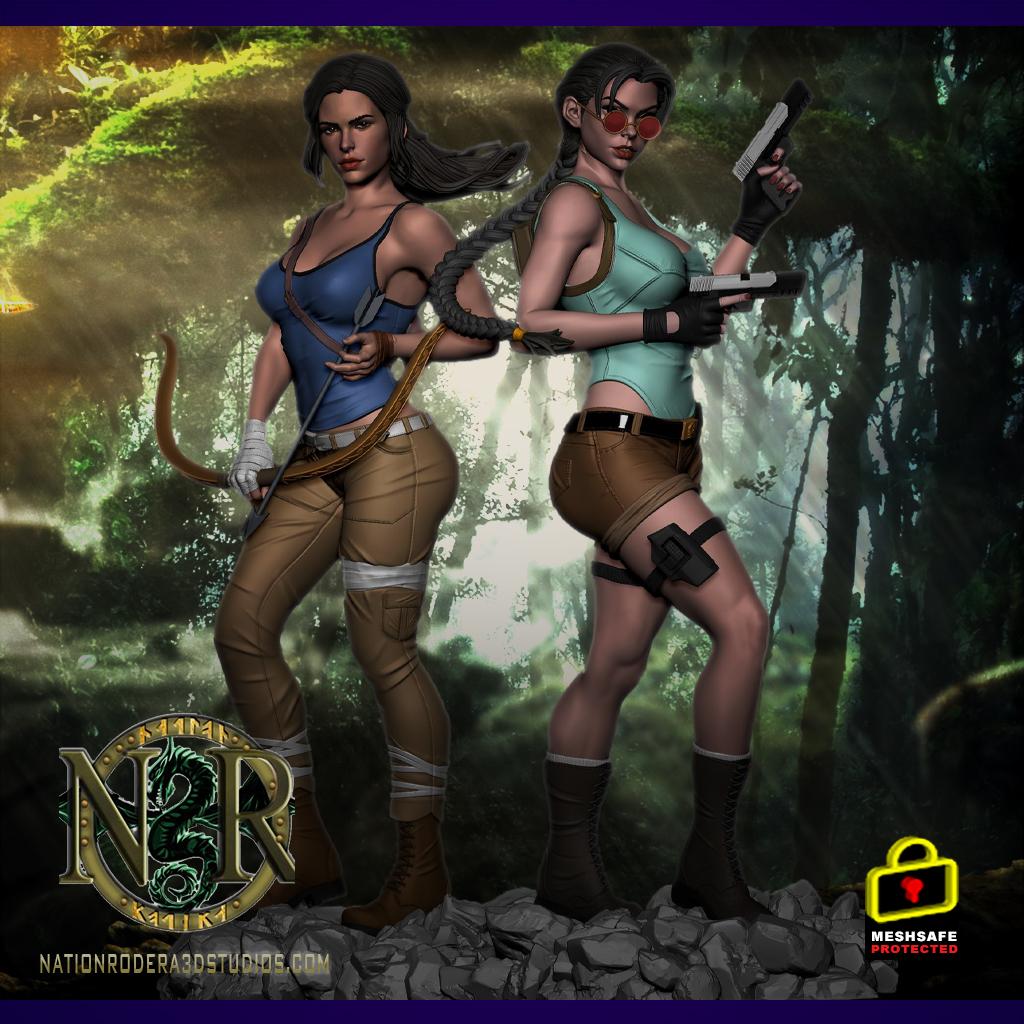 Lara-Croft Duo Version + NSFW