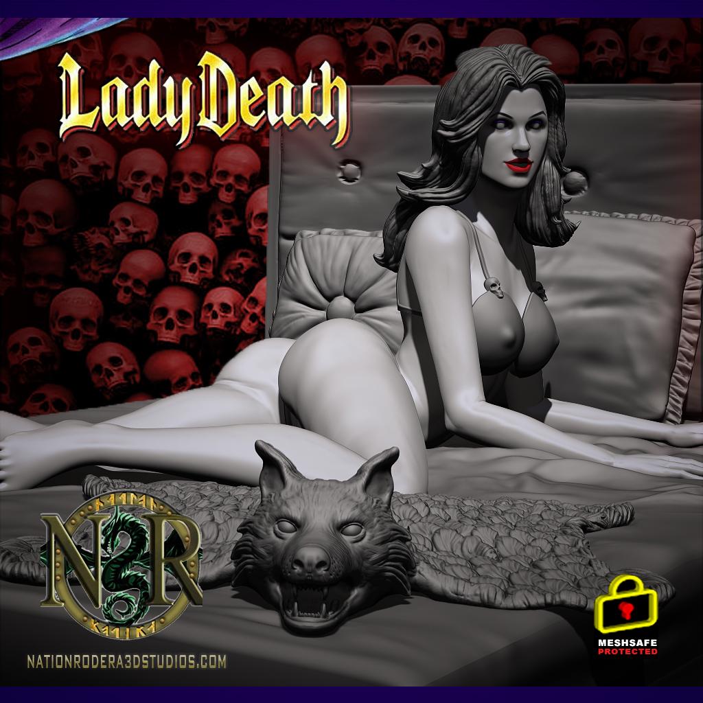 Lady-death boudoir + NSFW