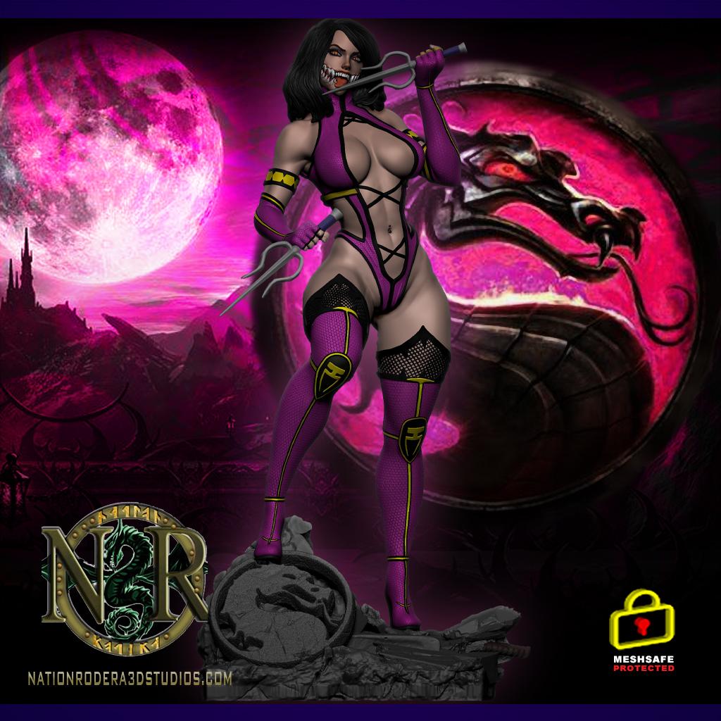 Milleena Mortal-Kombat + NSFW