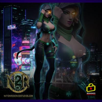 Cyber-Punk Robyn-Hood + NSFW