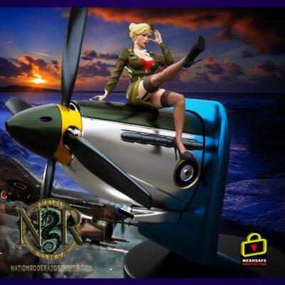 RAF-female bombshell + NSFW